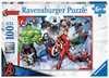 Disney Marvel Avengers 100 dílků 2D Puzzle;Dětské puzzle - Ravensburger