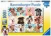 Psi 100 dílků 2D Puzzle;Dětské puzzle - Ravensburger