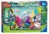 Trollové 100 dílků 2D Puzzle;Dětské puzzle - Ravensburger