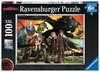 DRAGONS-DRAGON PRZYJACIELE 100 EL Puzzle;Puzzle dla dzieci - Ravensburger