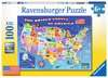 USA State Map Jigsaw Puzzles;Children s Puzzles - Ravensburger