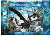 Dragons: The hidden world Puslespil;Puslespil for børn - Ravensburger