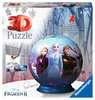 Puzzle 3D Ball 72 p - Disney La Reine des Neiges 2 3D puzzels;Puzzle 3D Ball - Ravensburger