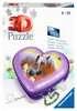 Herzschatulle - Pferde 3D Puzzle;3D Puzzle-Organizer - Ravensburger