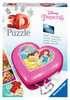 Herzschatulle - Disney Princess 3D Puzzle;3D Puzzle-Organizer - Ravensburger