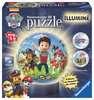 Puzzle 3D rond 72 p illuminé - Pat Patrouille Puzzle 3D;Puzzles 3D Ronds - Ravensburger