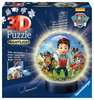 Puzzle 3D Ball 72 p illuminé - Pat Patrouille Puzzle 3D;Puzzles 3D Ronds - Ravensburger