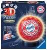 Nachtlicht - FC Bayern München 3D Puzzle;3D Puzzle-Ball - Ravensburger