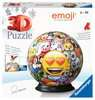 Puzzle 3D Ball Emoji 3D Puzzle;3D Puzzle-Ball - Ravensburger
