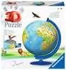 Puzzle 3D Globe 180 p Puzzle 3D;Puzzle 3D rond - Ravensburger