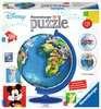Disney Globe 3D Puzzle, 180 pc 3D Puzzle®;Puslebolde - Ravensburger