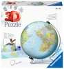The World on V-Stand 3D Puzzle®, 540pc 3D Puzzle®;Maps 3D Puzzle® - Ravensburger