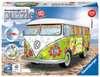 Puzzle 3D Combi T1 Volkswagen - Hippie Style Puzzle 3D;Puzzles 3D Objets iconiques - Ravensburger