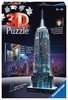 Empire State Building at Night, 3D Puzzle 3D Puzzle®;Natudgave - Ravensburger