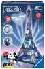 Mickey & Minnie Eiffelova věž 216 dílků 3D Puzzle;Budovy - Ravensburger