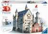Zámek Neuschwanstein, 216 dílků 3D Puzzle;Budovy - Ravensburger