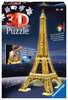Eiffel Tower by Night 3D Puzzles;3D Puzzle Buildings - Ravensburger
