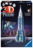 Chrysler Building - Night Edition 3D Puzzles;3D Puzzle Buildings - Ravensburger