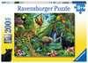 ZWIERZĘTA W DŻUNGLI-200EL. Puzzle;Puzzle dla dzieci - Ravensburger