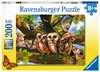Woodland Neighbours 200 pc Puslespil;Puslespil for børn - Ravensburger