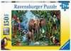 Dschungelelefanten Puzzle;Kinderpuzzle - Ravensburger