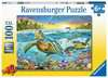 Swim with Sea Turtles XXL 100pc Puslespil;Puslespil for børn - Ravensburger