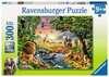 Puzzle 300 p XXL - Un coucher de soleil à l'oasis Puzzles;Puzzles pour enfants - Ravensburger