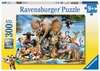 AFRYKAŃSCY PRZYJACIELE 300 EL XXL Puzzle;Puzzle dla dzieci - Ravensburger