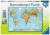 Politische Weltkarte Puzzle;Kinderpuzzle - Ravensburger