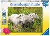 Pferde auf der Blumenwiese Puzzle;Kinderpuzzle - Ravensburger