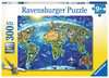 World Landmarks Map Jigsaw Puzzles;Children s Puzzles - Ravensburger