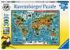 Dieren over de wereld Puzzels;Puzzels voor kinderen - Ravensburger