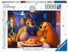 Puzzle 1000 p - La Belle et le Clochard (Collection Disney) Puzzle;Puzzles adultes - Ravensburger