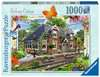 Country Cottage Collection - Railway Cottage, 1000pc Puzzles;Adult Puzzles - Ravensburger