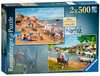 Picturesque Norfolk 2x500pc (Cromer & Horning) Puzzles;Adult Puzzles - Ravensburger