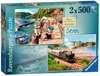 Picturesque Devon, 2x500pc Puzzles;Adult Puzzles - Ravensburger