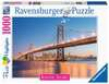 Beautiful Skylines - Oakland Bay Bridge, 1000pc Puslespil;Puslespil for voksne - Ravensburger