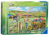Happy Days at Work – The Farmer, 500pc Puzzles;Adult Puzzles - Ravensburger