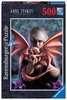 ANNE STOKES: DRAGON GIRL 500 EL Puzzle;Puzzle dla dzieci - Ravensburger