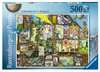 COLIN THOMPSON - TOMORROW S WORLD 500EL Puzzle;Puzzle dla dzieci - Ravensburger