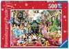Puzzle 500 p - Le train de Noël Disney Puzzle;Puzzles adultes - Ravensburger