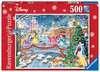 Disney Princess Christmas Celebrations, 500pc Puzzles;Adult Puzzles - Ravensburger