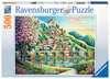 BLOSSOM PARK 500EL Puzzle;Puzzle dla dzieci - Ravensburger