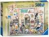 Crazy Cats Vintage - Knit one, Purrl one, 500pc Puzzles;Adult Puzzles - Ravensburger