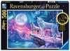 Puzzle 500 p Star Line - Loups sous les lumières du Nord Puzzle;Puzzle adulte - Ravensburger