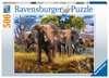 Puzzle 500 p - Famille d éléphants Puzzle;Puzzle adulte - Ravensburger