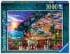 Dinner in Positano, Italy, 1000pc Puzzles;Adult Puzzles - Ravensburger