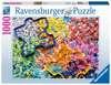 Viele bunte Puzzleteile Puzzle;Erwachsenenpuzzle - Ravensburger
