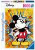 Retro Mickey Mouse, 1000pc Puslespil;Puslespil for voksne - Ravensburger