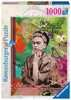 Frida Kahlo de Rivera Ravensburger Puzzle  1000 pz - Fantasy Puzzle;Puzzle da Adulti - Ravensburger